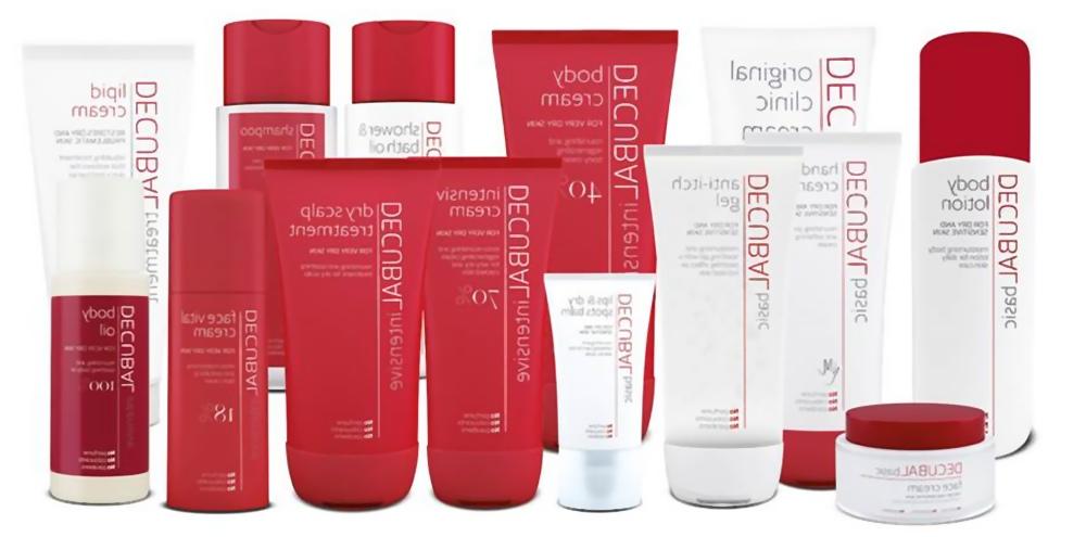 Decubal creme og shampoo til sensitiv hud